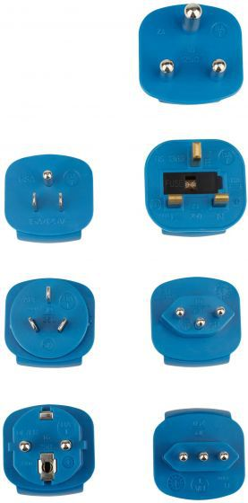 adapter plugs earthing contact with 7 adapters