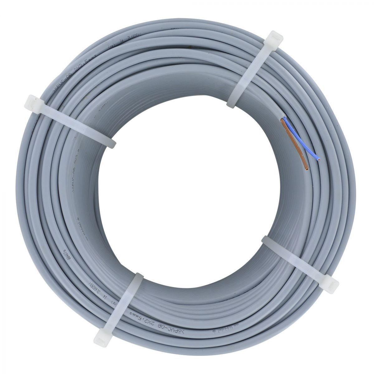 cable 2x25 mm liyy 100 m if 10m cable powerunit is not sufficient