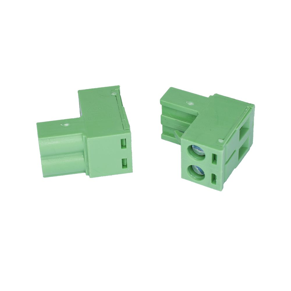 connector spider pcb 508 mm plug 2pole for power supply