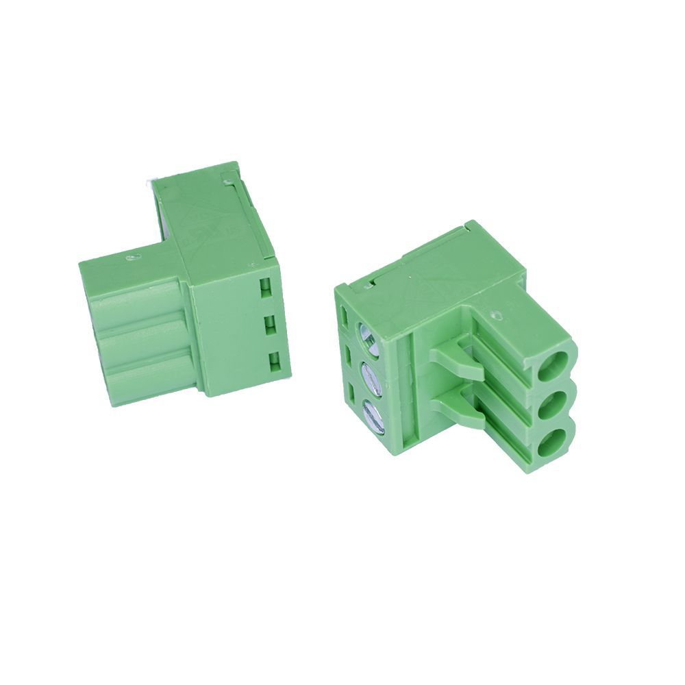 connector spider pcb 508 mm plug 3pole for detection
