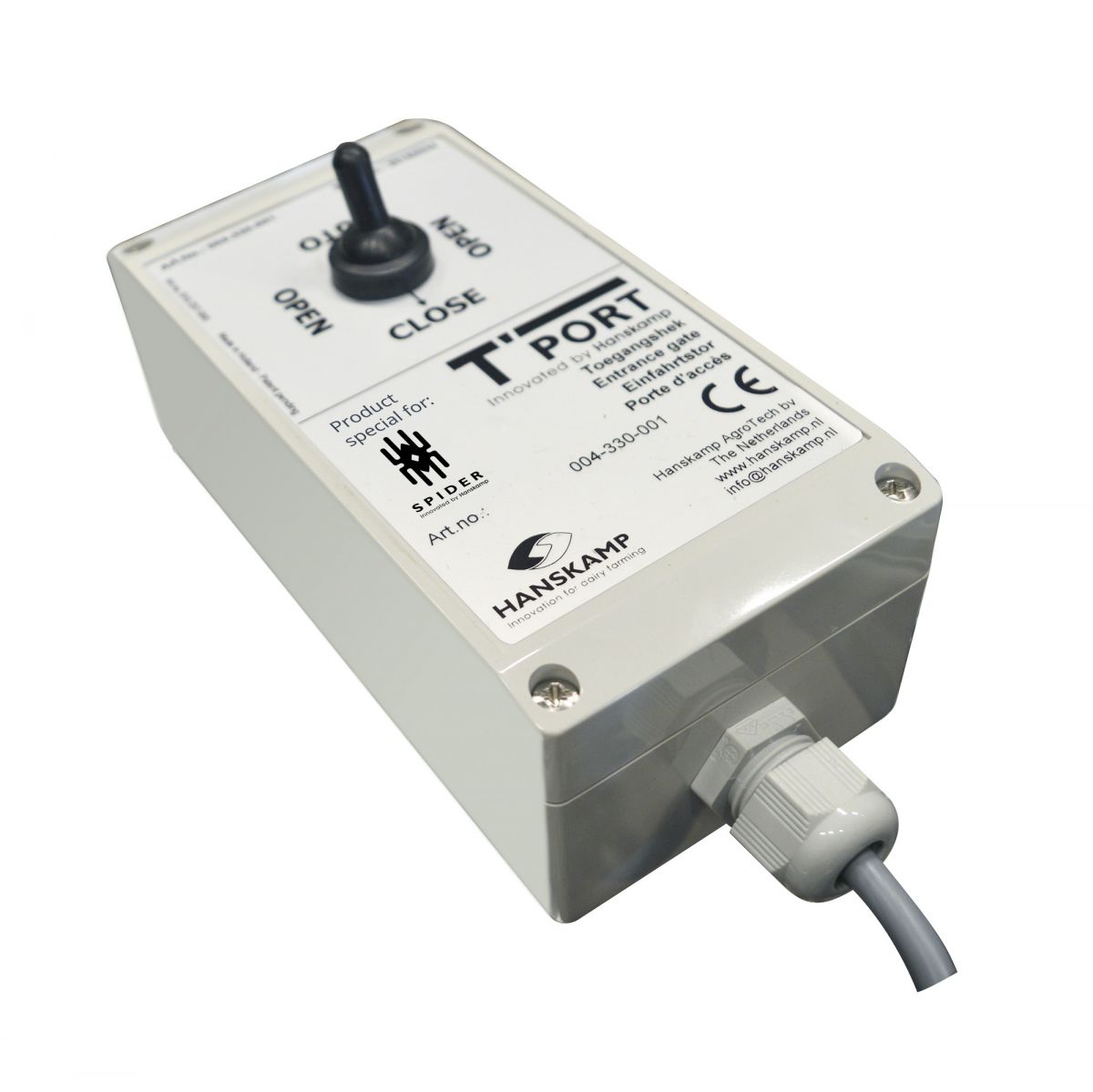 control box tport back with 3position switch