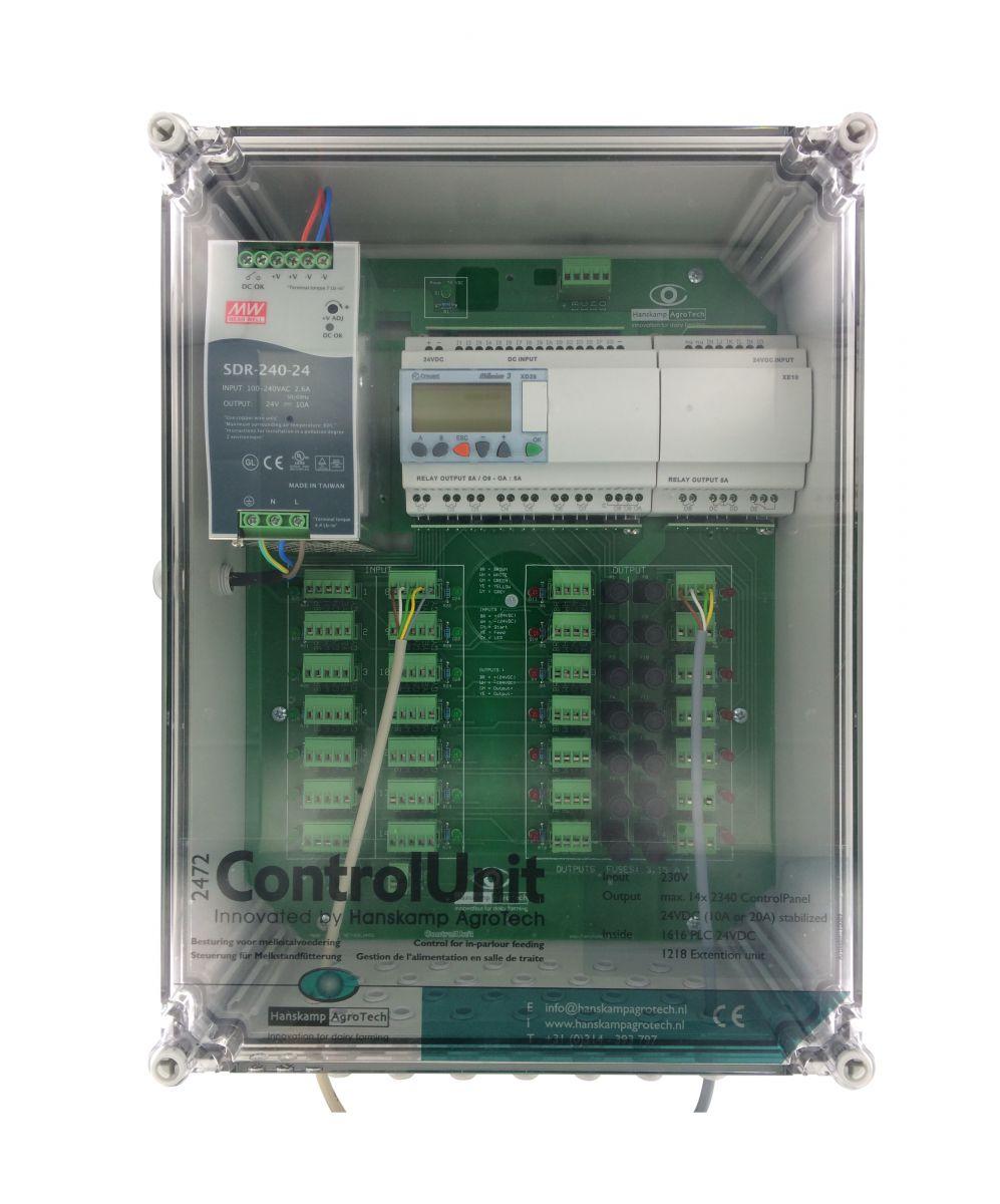 controlunit inparlour feeding max 14 controlpanels