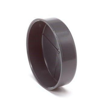 deksel 125 mm pvc tbv pipefeeder