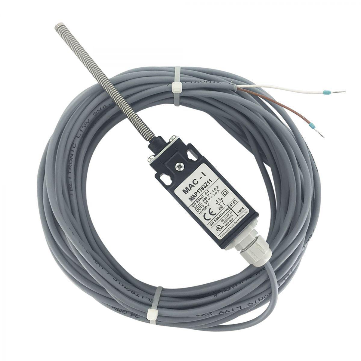 endschalter mit feder und drehgelenk und 15 m kabel positionsschalter nonc