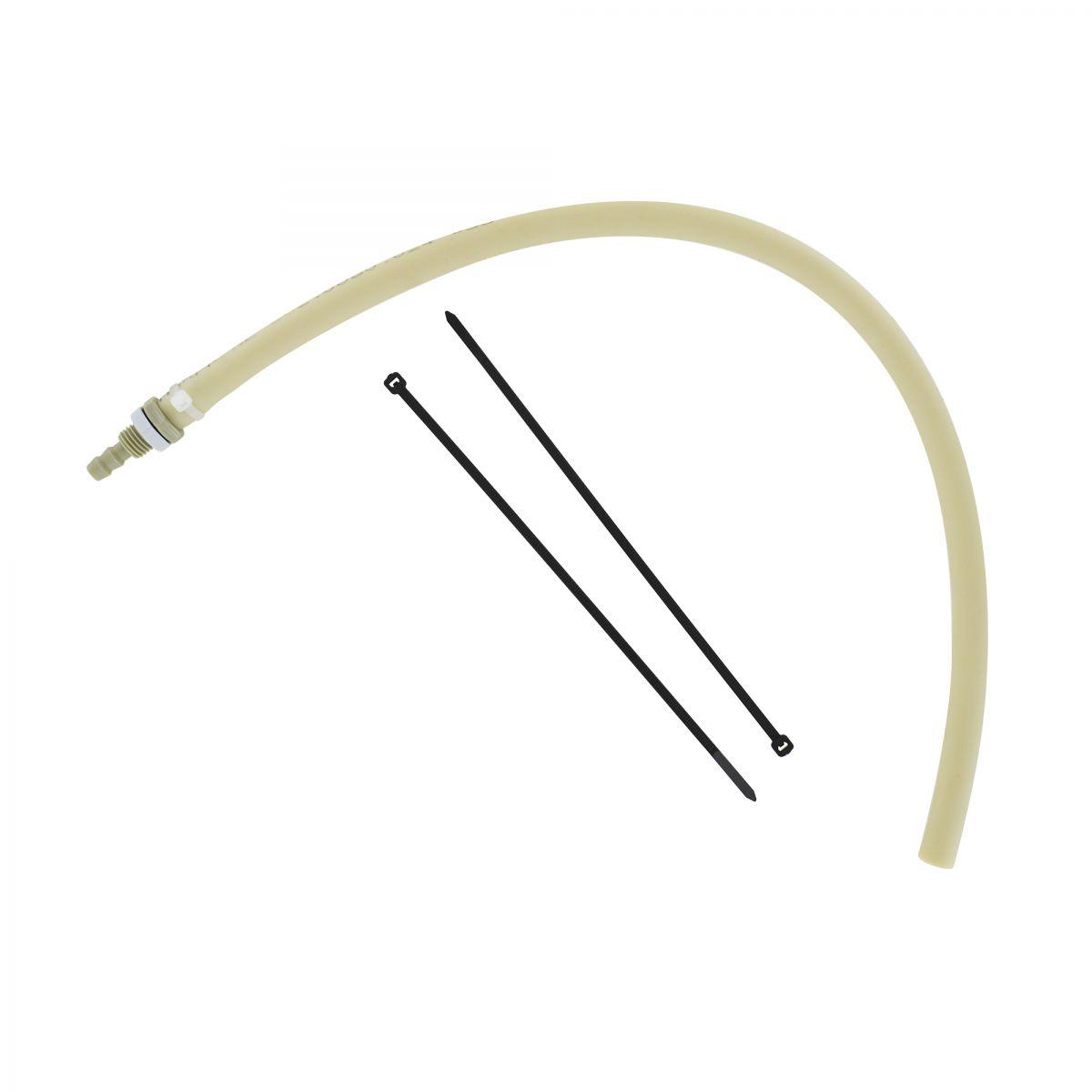 hanskampqualitytube tuyau qprene 048 m avec matriel de fixation convient pour multifill