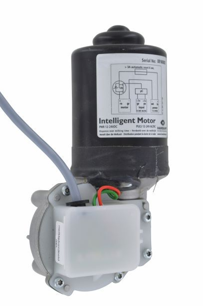 intelligent motor 28rpm without sliding contact dispense throughout 1 minute milk time