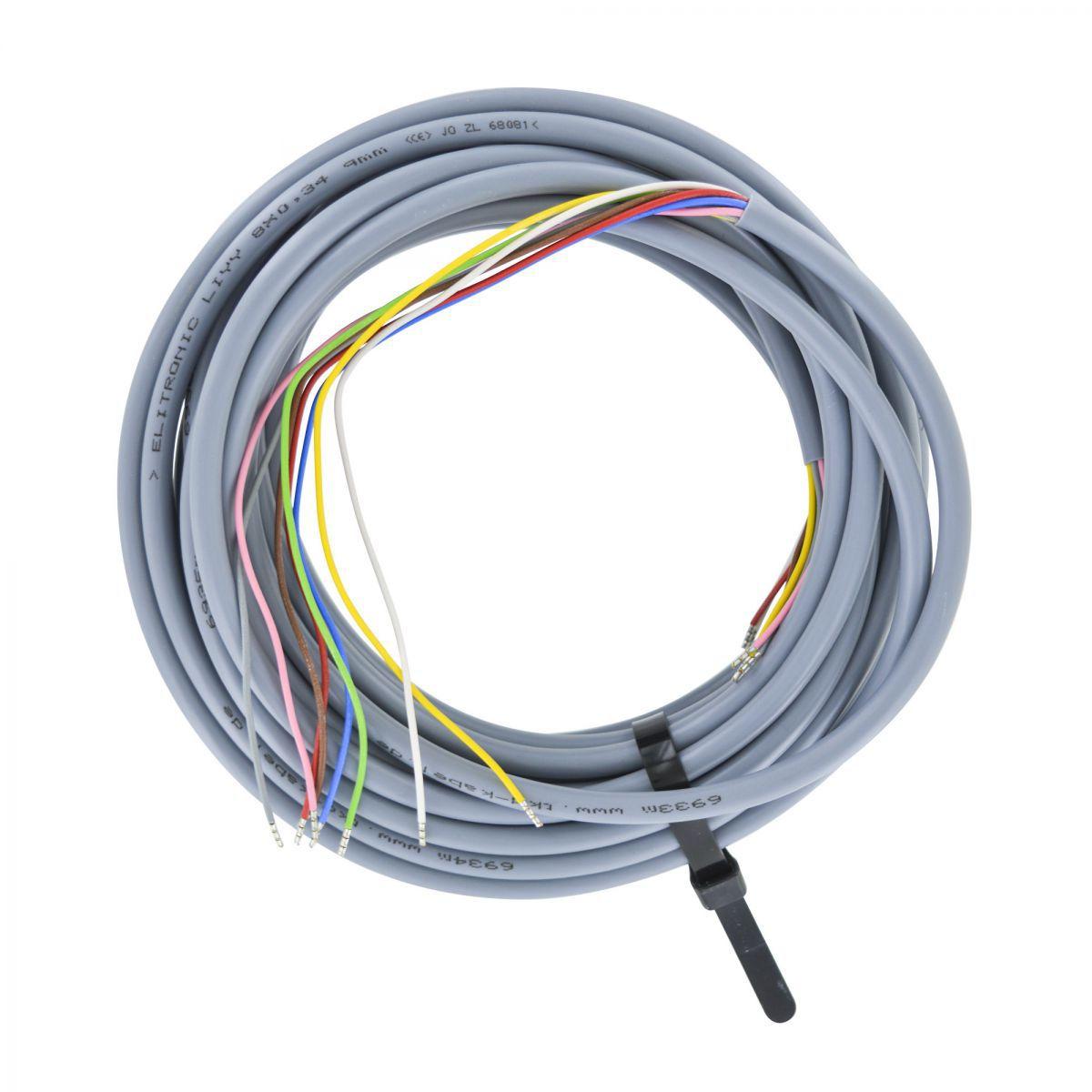 kabel liyy 8x034 mm l8 m mit spleikontakten versehen