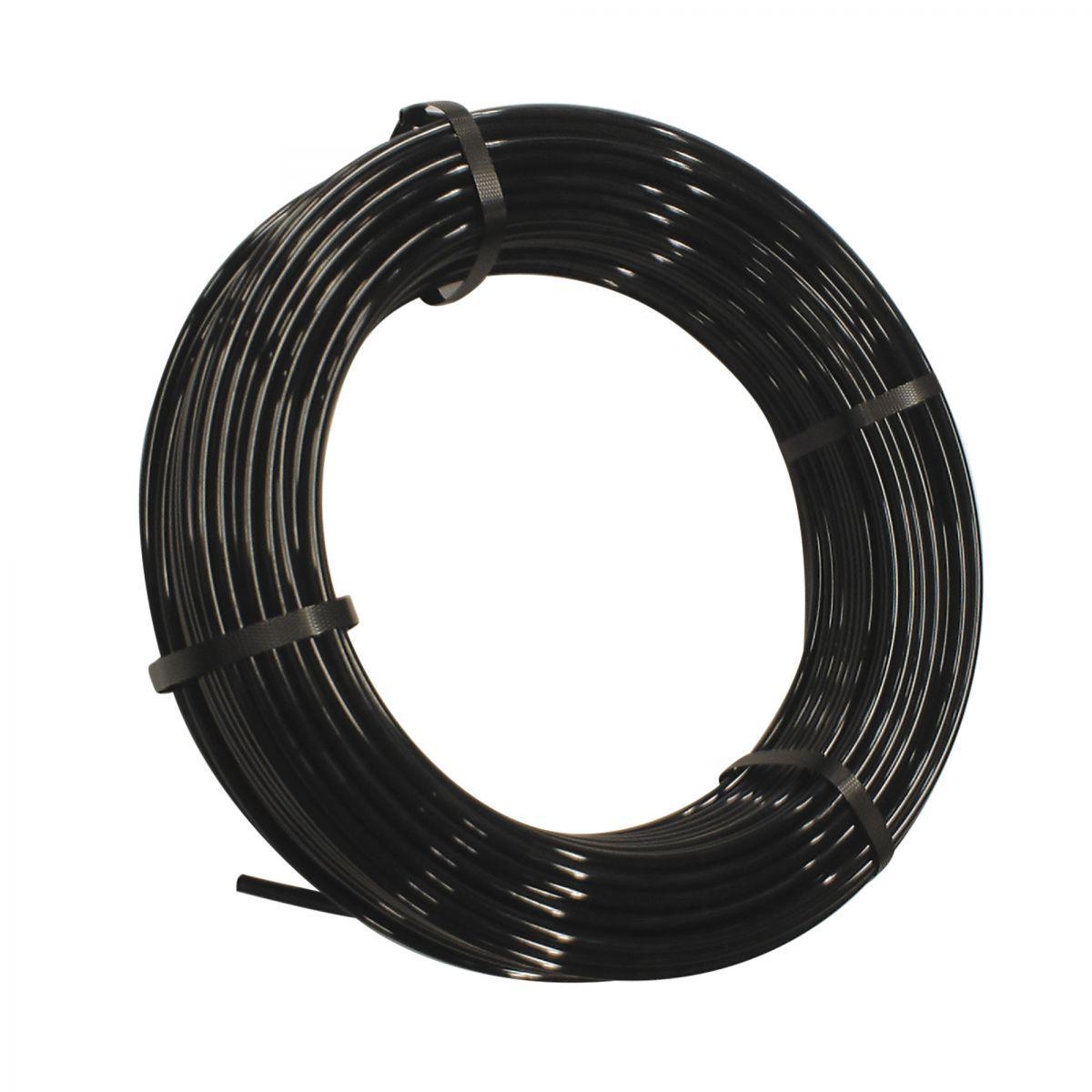 luftleitung pa 8x6 50 m schwarz