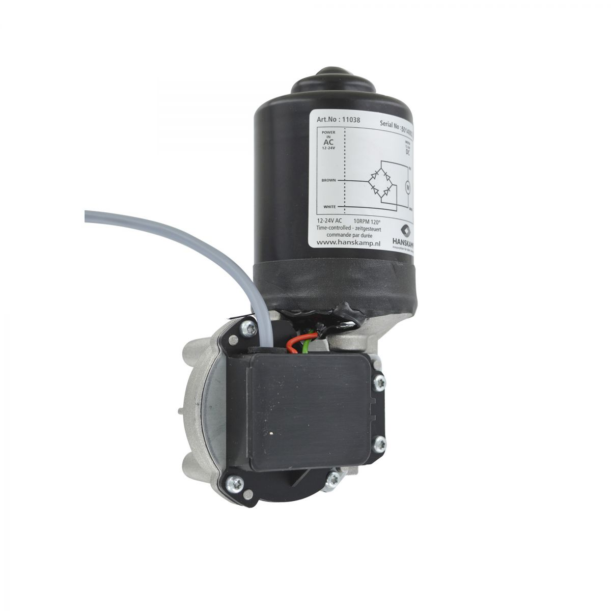 motor 24v ac 10rpm timecontrolled for multidos