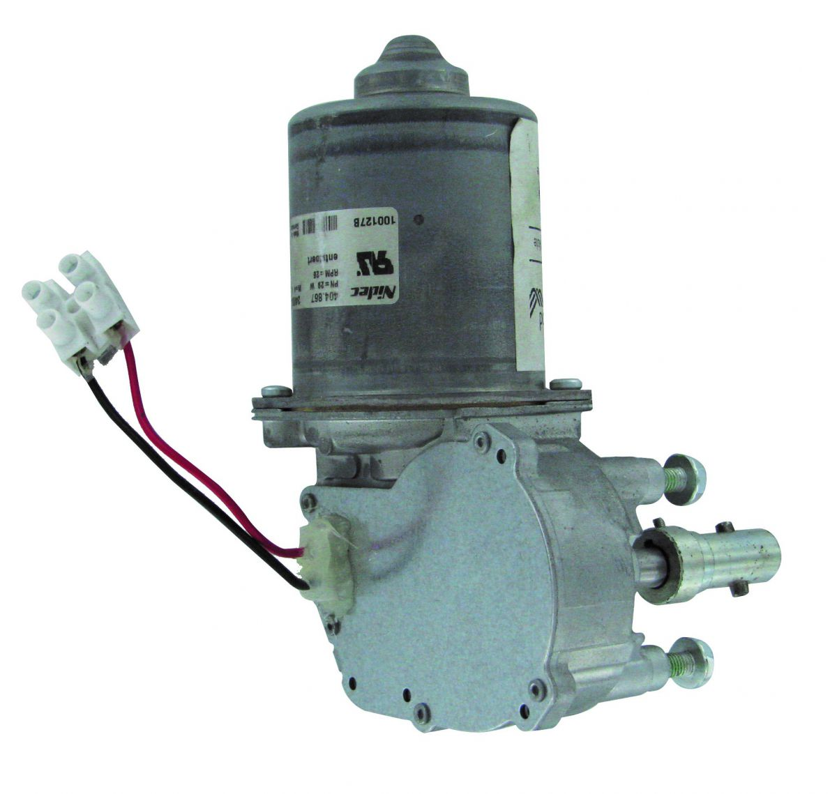 motor 24v dc t3 26rpm with connection wires for fullwood