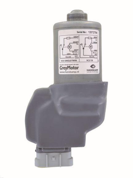 motor grijs 40rpm 24v dc omgoten behuizing zonder kabel geawestfalia