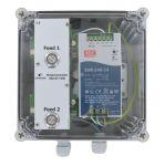 MotorController 2 Futtersorten, PipeFeeder HighSpeed mit Stromversorgung 24V DC 10A in Gehäuse