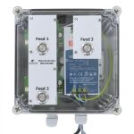 MotorController 3 types of food, PipeFeeder HighSpeed with power supply 24V DC 10A in enclosure