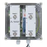 MotorController 4 Futtersorten, PipeFeeder HighSpeed mit Stromversorgung 24V DC 10A in Gehäuse