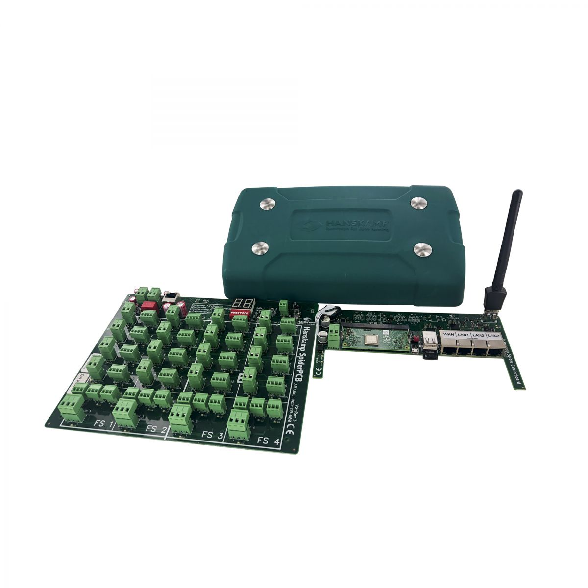 new spare part set consists of antenna spiderpcb and carrierboard custom pricing