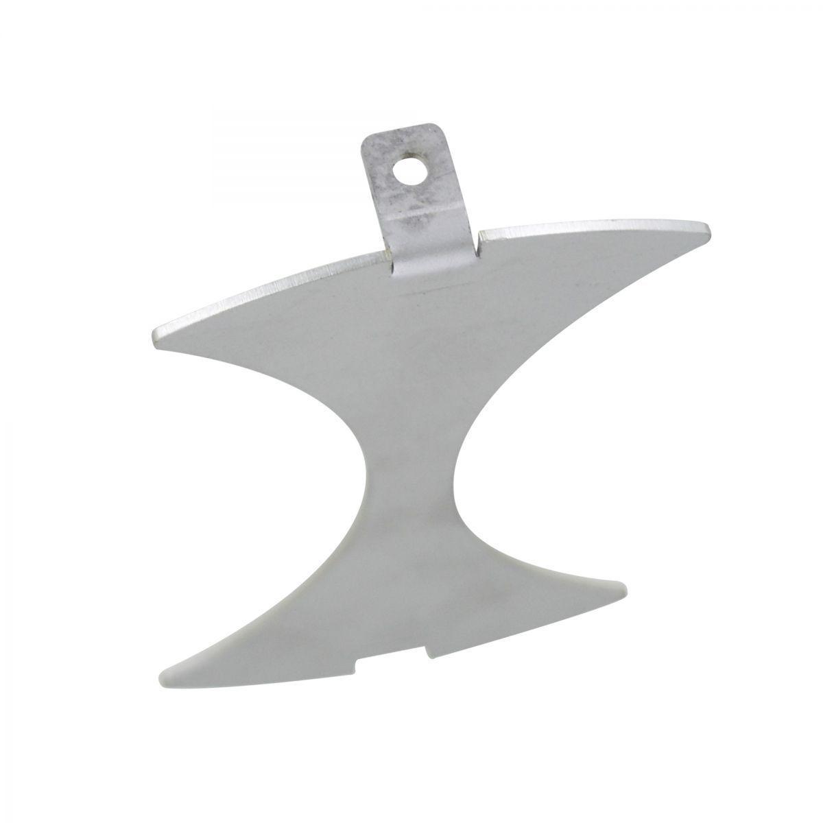 plaque de recouvrement 15 mm aisi304 2 aliments pour pipefeeder dump