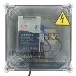 PowerUnit 24V DC 10A wit relay 115V and resistor