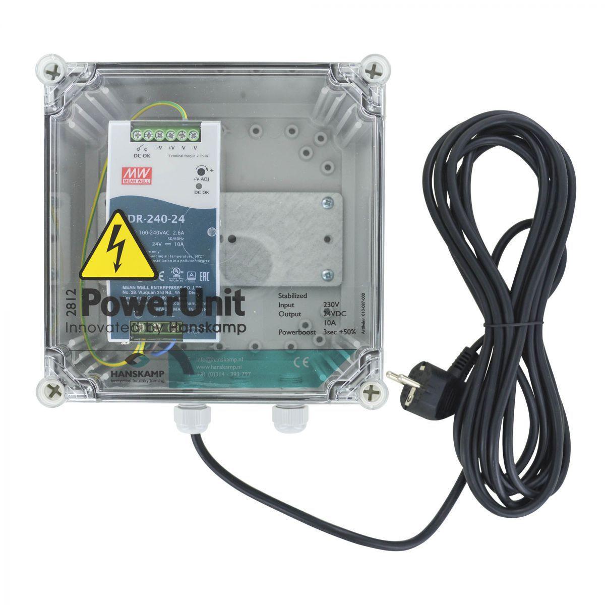 powerunit avec sdr alimentation lectrique 24v dc 10a avec powerboost avec 10 m cable