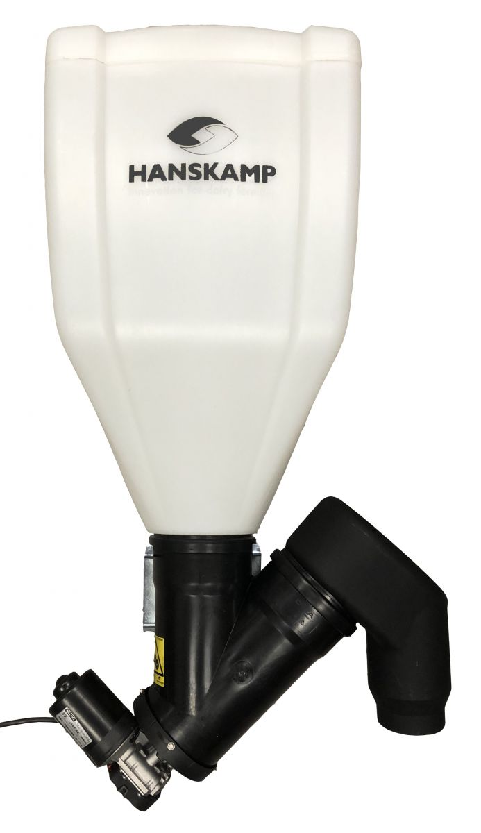 rservoir transparent blanc capacit 28 litres 17 kg convient pour blackv et pipefeeder