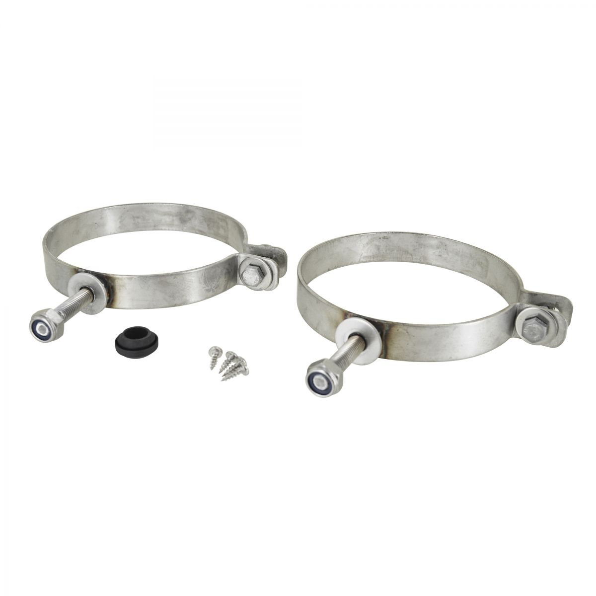 set with threaded end clamps m10 for pipefeeder accessories