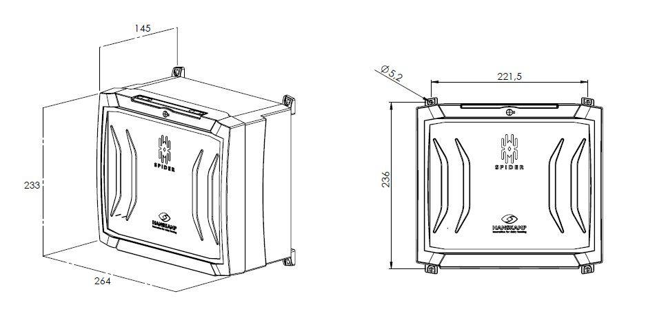 spiderclient avec spiderpcb circuit imprim sans alimentation lectrique 24v dc
