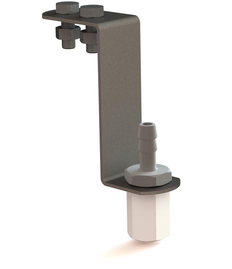 sproeierhouder multidos 25 mm speciaal voor lely a4 rvs 15 mm incl bevestigingsmateriaal