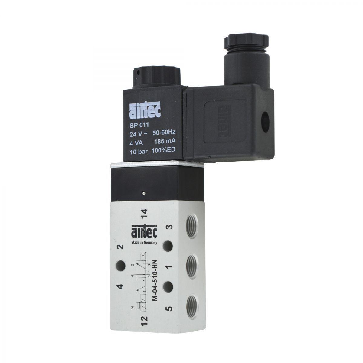 valve 52 18 airtec avec bobine 24v ac 4va
