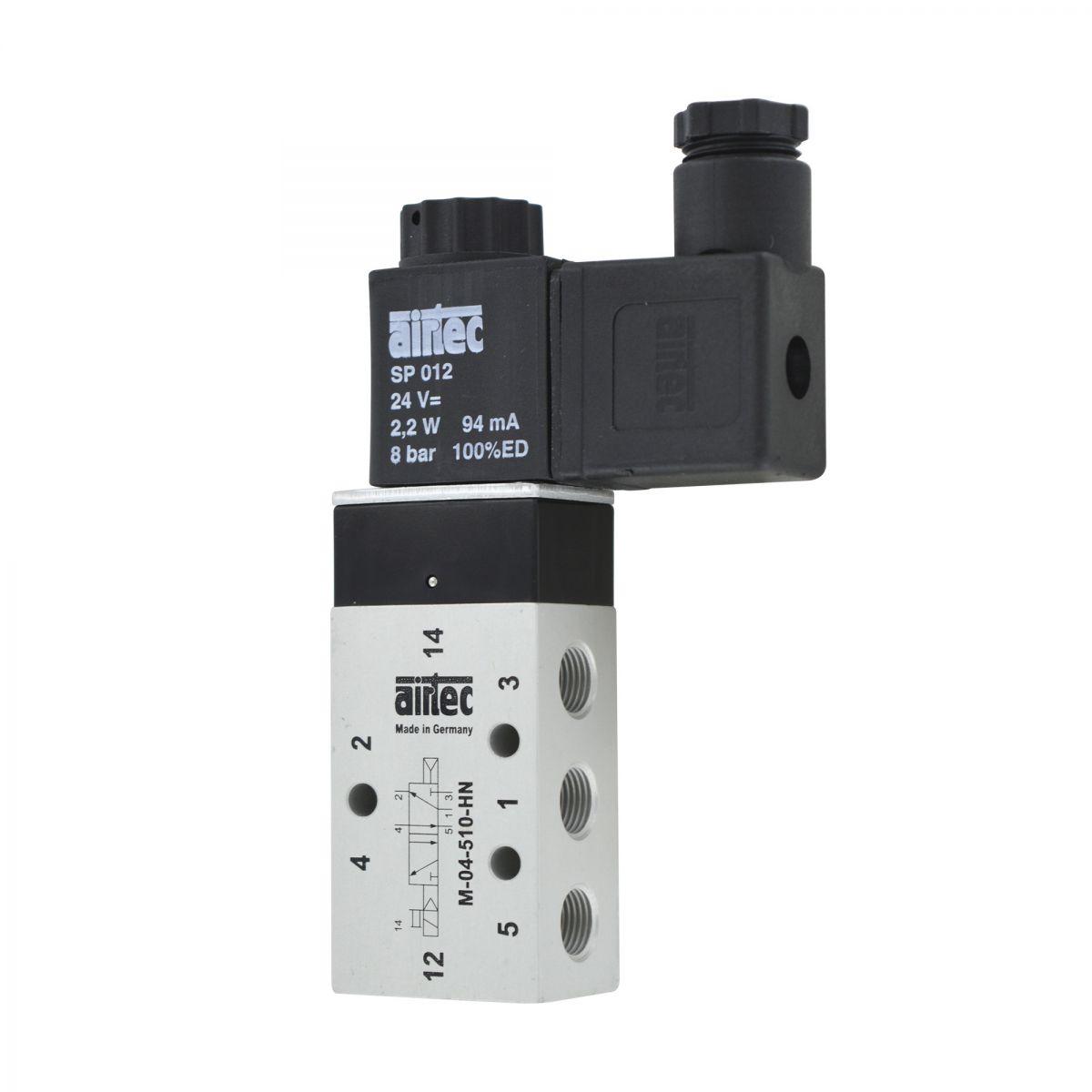 ventil 52 18 airtec fr powerdos inkl spule 24v dc 22w