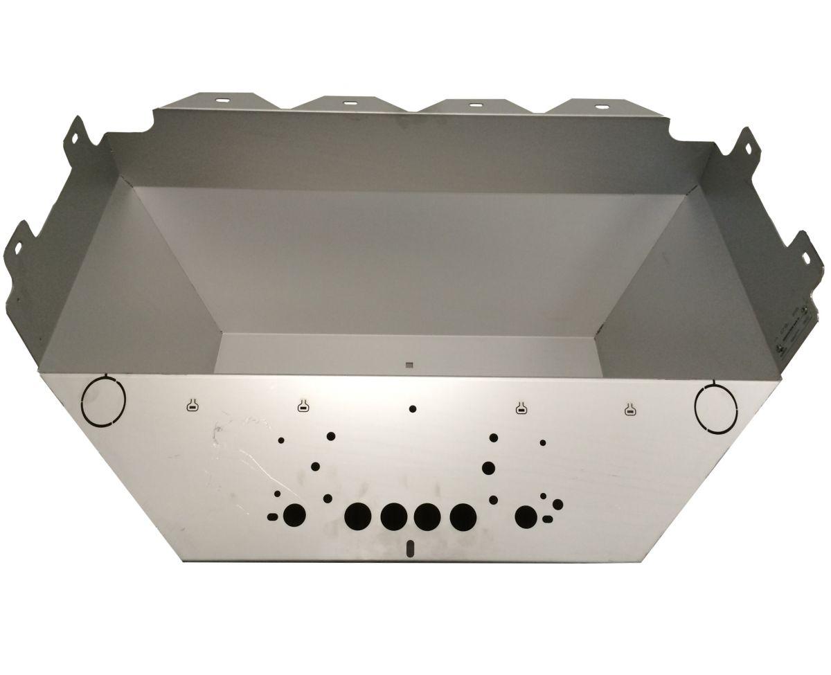 voerbak rvs 15 mm fswi incl 2x doorvoertule en typeplaatje